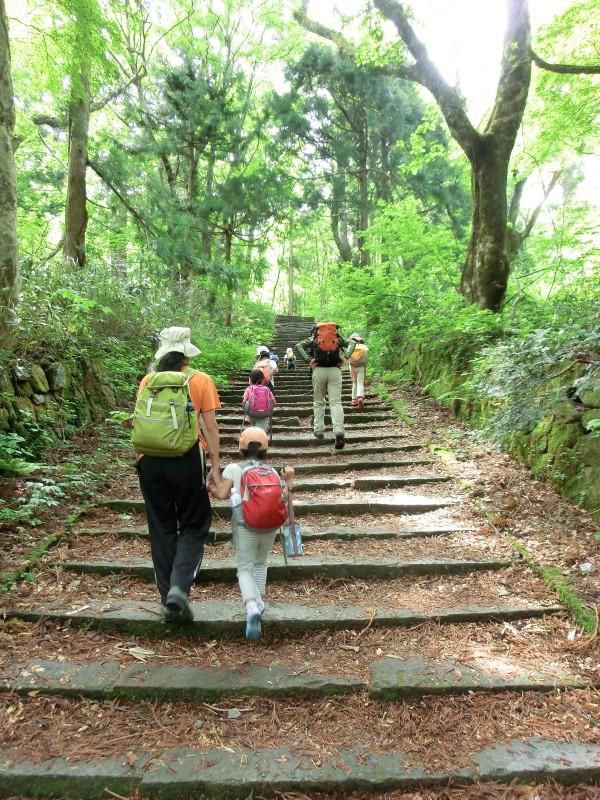 大山登山開始2012年9月