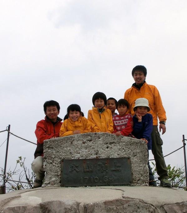 大山頂上2012年9月